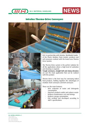 Thermo Drive Conveyors