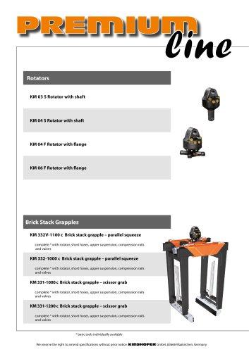 PremiumLine Crane Attachments - KINSHOFER - PDF Catalogs
