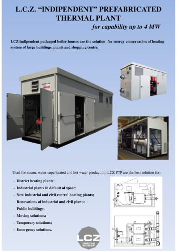 PREFABRICATED THERMAL PLANT