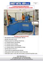 Flanging and punching machine SMM-1600