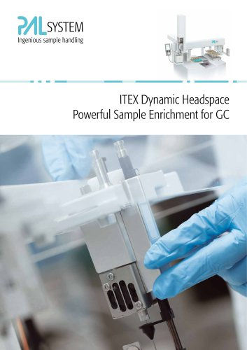 ITEX dynamic headspace powerfull sample enrichment for GC
