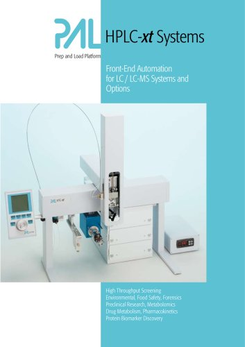 PAL HPLC-xt brochure