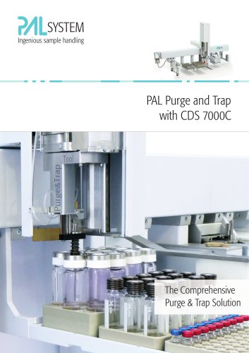 Pal purge and trap with CDS 7000C