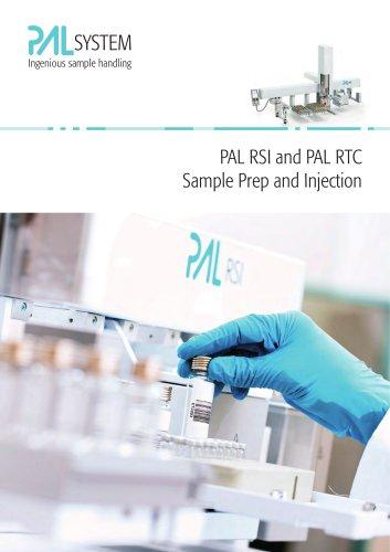 PAL RSI and PAL RTC Sample Prep and Injection