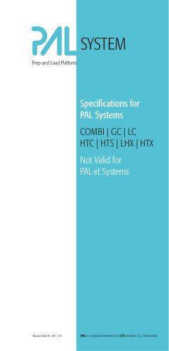 PAL Systems Specifications