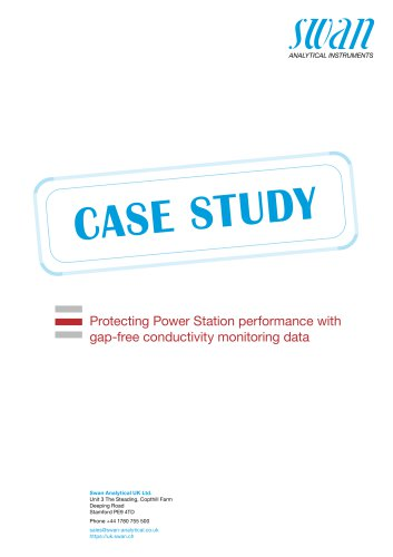 Case Study: Protecting Power Station Performance with gap-free conductivity monitoring data