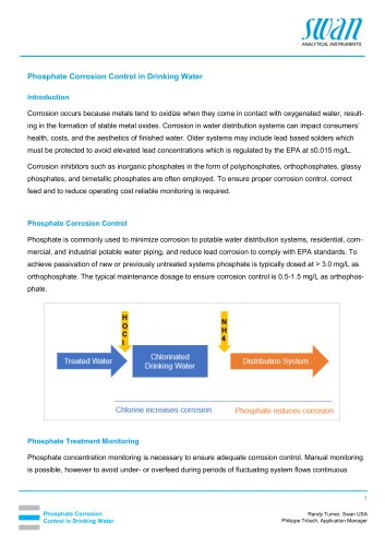 Phosphate Corrosion Control in Drinking Water