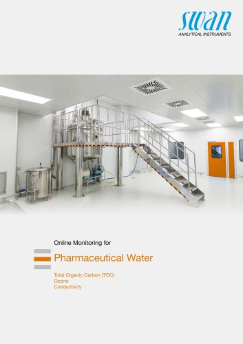 Product Overview for Online Monitoring for Pharmaceutical Water
