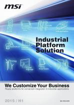 2015 H1 MSI Industrial Platform Solutions Brochure