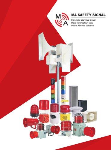 MA Safety Signal Alarm Sounder & Beacon