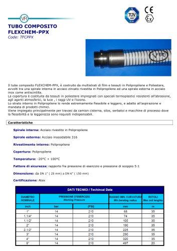 COMPOSITE HOSE  FLEXCHEM-PPX