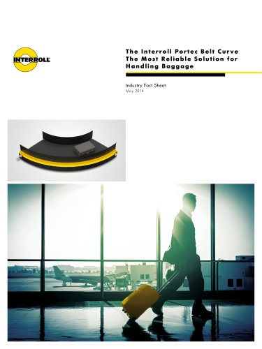 The Interroll Portec Belt Curve: The Most Reliable Solution for Handling Baggage