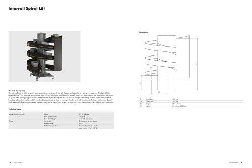 Interroll Spiral Lift
