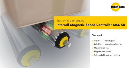 Magnetic Speed Controller MSC 50