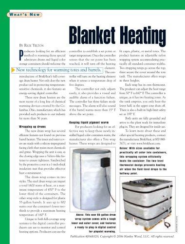 Blanket Heating