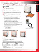TTH Caged Tote Tank / IBC Silicone Rubber Heater and Control