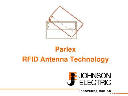 Parlex  RFID Antenna Technology