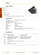 Standard Rotary Stepper Motors - 15