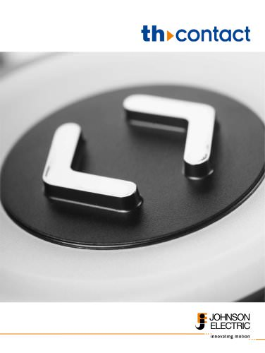 TH-contact panel mounted push button