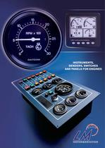 Industrial applications : instruments, senders, switches and panels for engines