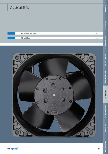 AC axial fans