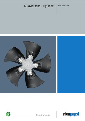 AC axial fans - HyBlade®