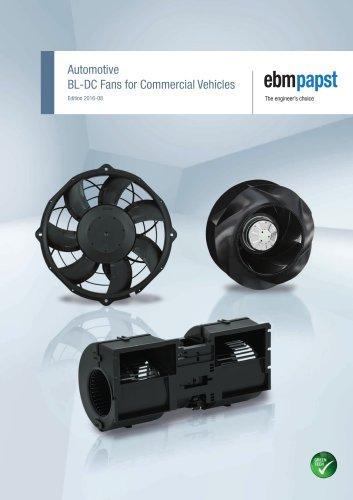 Automotive - BL-DC Fans for Commercial Vehicles