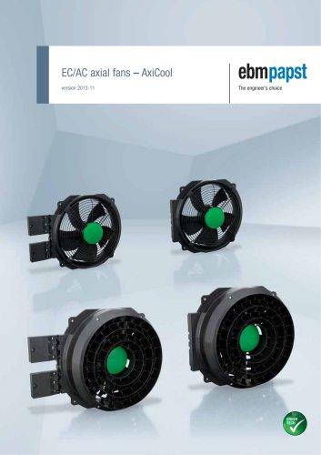 EC/AC axial fans - AxiCool