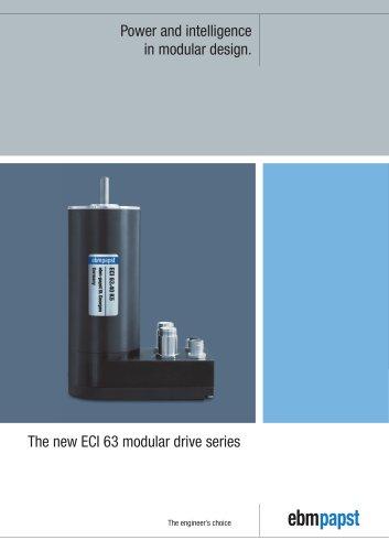 ECI 63 modular drive series