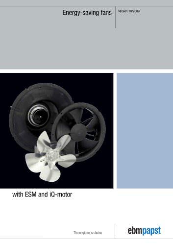 Energy-saving fans