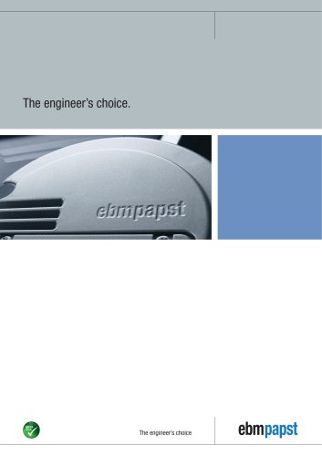 Image brochure: The engineer?s choice