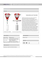 LMP633-BCT dirty water level transmitter with lcd display