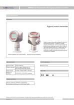 SMP858-TLF clamp on sanitary pressure sensor