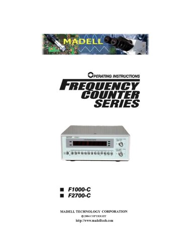 Frequency counter series