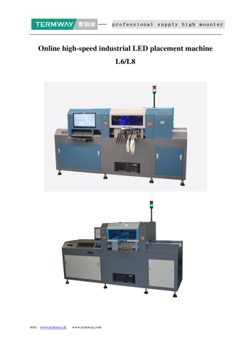 New launched LED pick and place machine L6 torch SMT