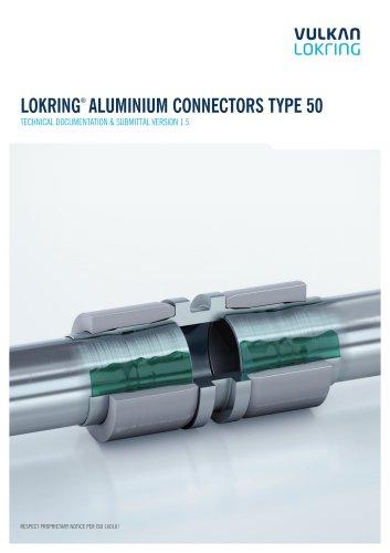 LOKRING®  ALUMINIUM CONNECTORS TYPE 50
