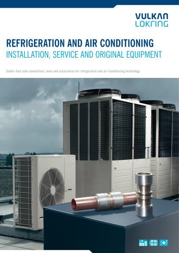 Refrigeration and Air Conditioning  for installation, service and original equipment