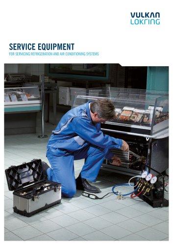 Service Equipment catalogue