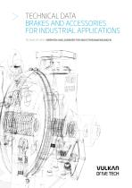 Technical Data Brakes and accessories for industrial applications