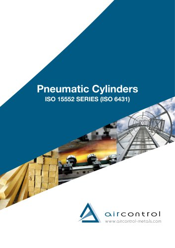 Pneumatic ISO cylinders