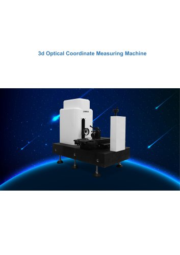 3d Optical Coordinate Measuring Machine