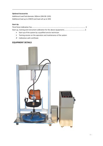 Chair Swivel Test Rig