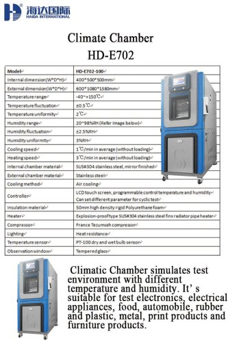 Climate Chamber