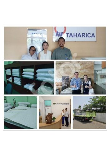 Customer company is a very popular brand in Indonesia, the factory is very large, 15 branches nationwide, happy cooperation