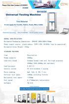 Electronic Tensile Testing Machime - 1