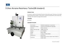 Footwear Raw material Testing and finished shoe testing machines - 21