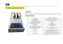 Footwear Raw material Testing and finished shoe testing machines - 23