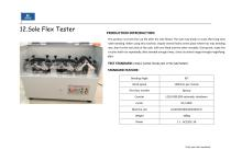 Footwear Raw material Testing and finished shoe testing machines - 24