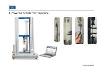 Footwear Raw material Testing and finished shoe testing machines - 6