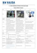 Four Point Bending Stiffness Tester Information - 7